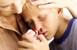 Treating the bleeding child with hug